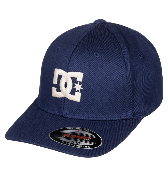 0 Boy's 2-7 Hat Star Flexfit Hat  ADKHA03002 DC Shoes