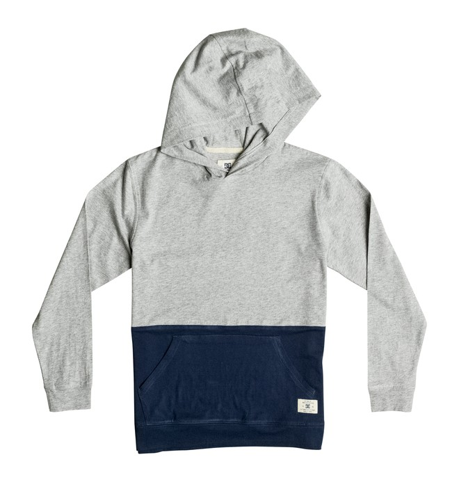 0 Boy's 2-7 Heroland Hooded Long Sleeve Tee  ADKKT03004 DC Shoes