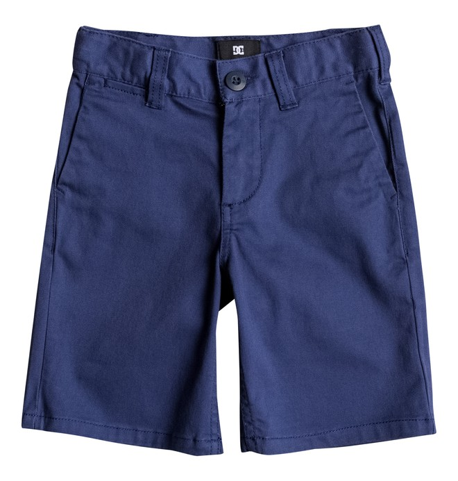"0 Boy's 2-7 Worker 18"" Straight Fit Shorts  ADKWS03003 DC Shoes"