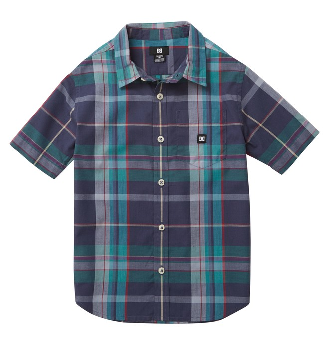 0 Kid's Booker SS Shirt  ADKWT00011 DC Shoes