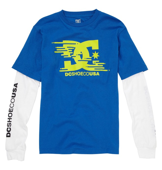0 Kid's Slider 2Fer Tee  ADKZT00104 DC Shoes