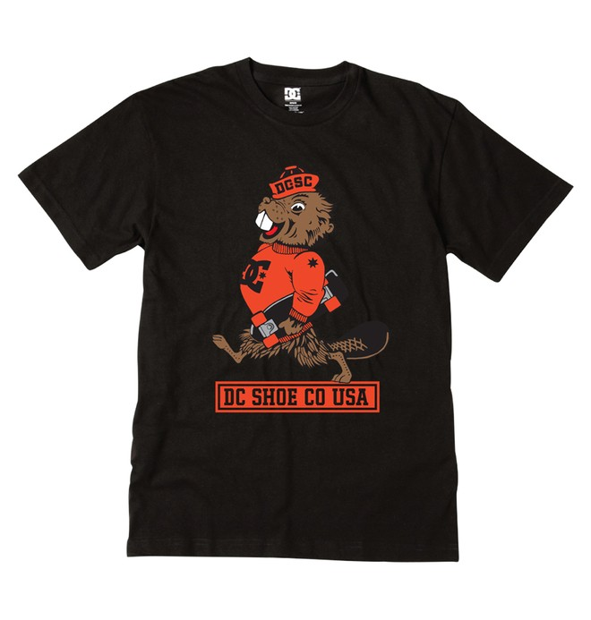 0 Kid's Beaverskate KD Tee  ADKZT00123 DC Shoes