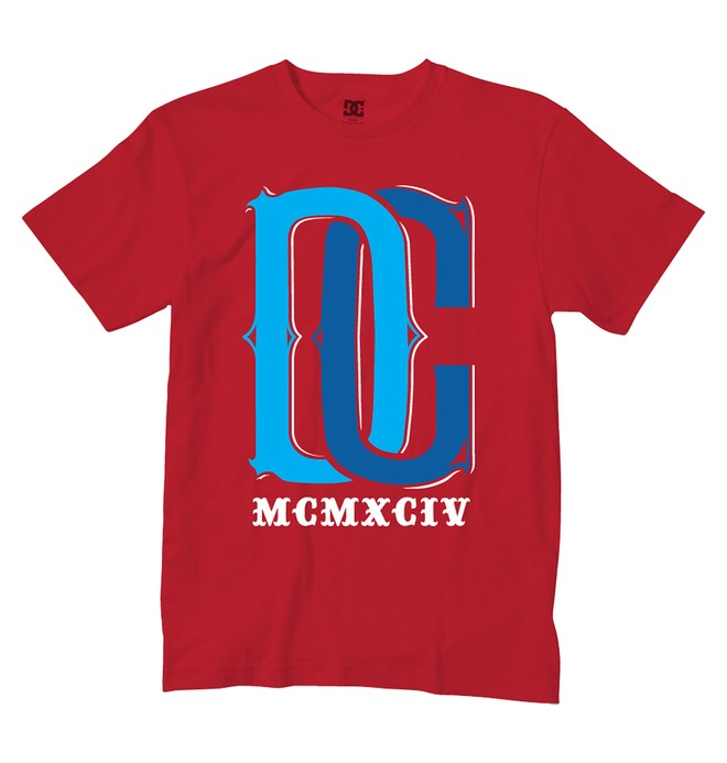 0 Boy's Newt Tee  ADKZT00151 DC Shoes