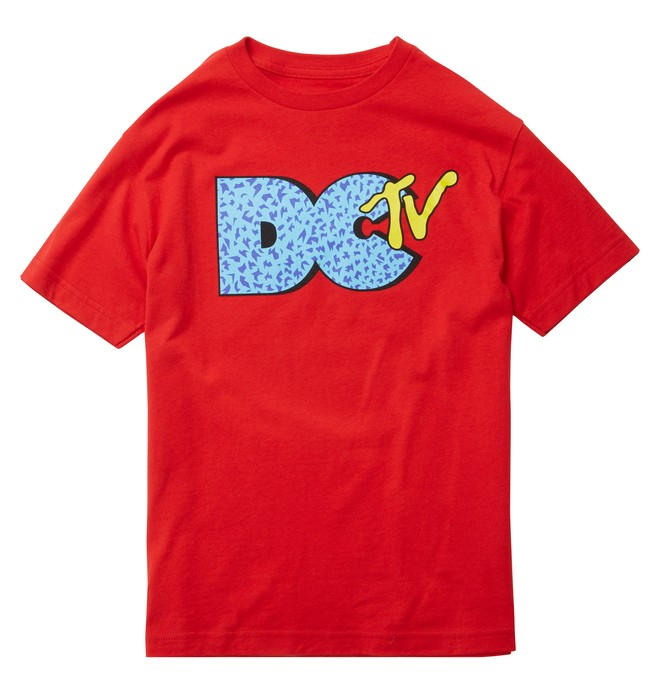 0 Boy's DCTV Tee  ADKZT00243 DC Shoes