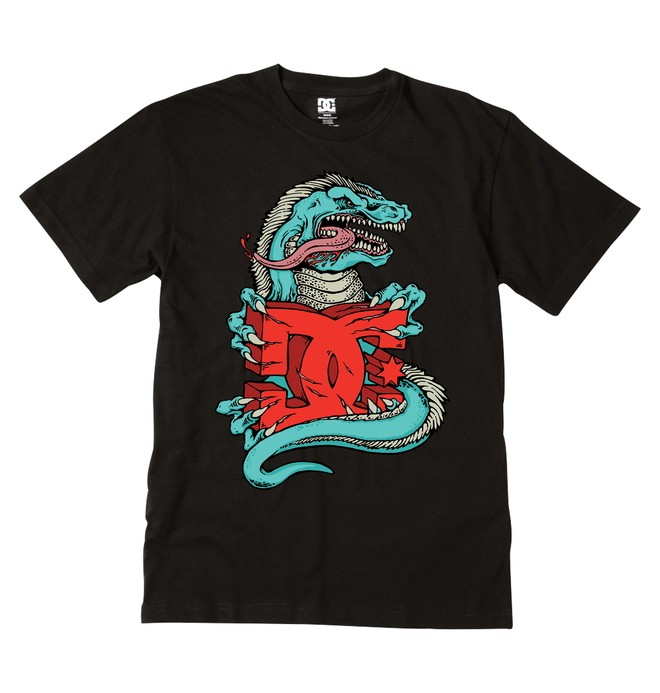 0 Boy's Rampage Tee  ADKZT00253 DC Shoes