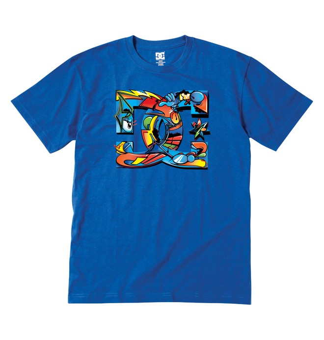 0 Kid's 4-7 All City Tee  ADKZT00257 DC Shoes