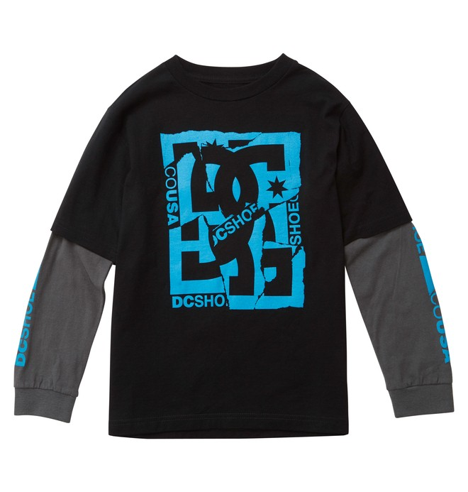 0 Kid's DCRips 2Fer Tee  ADKZT00269 DC Shoes