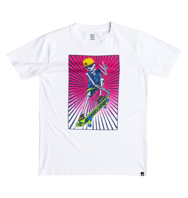 0 Boy's 2-7 Danny Tee White ADKZT03028 DC Shoes