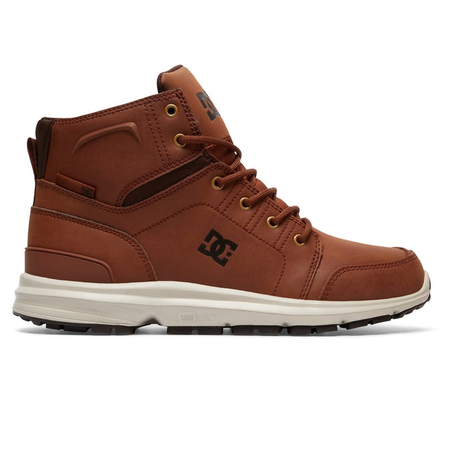 0 Men's Torstein Lace-Up Boots Brown ADMB700008 DC Shoes