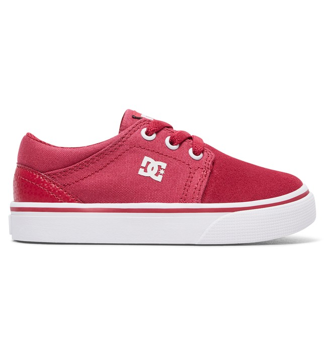 0 Toddler Trase Slip Shoes Red ADOS300006 DC Shoes