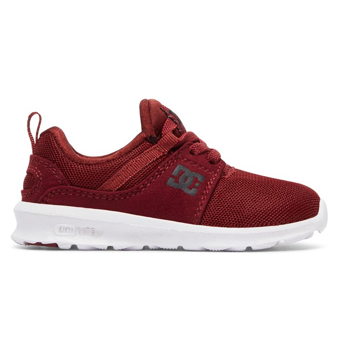 0 Heathrow - Zapatos para Bebés Rojo ADTS700041 DC Shoes