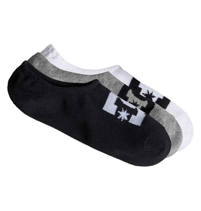 0 Men's DC Ankle Socks, 3 Pack  ADYAA03048 DC Shoes