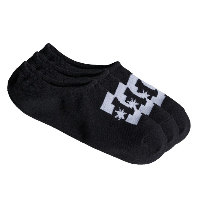 0 DC - Pack de 3 Sockettes  ADYAA03048 DC Shoes