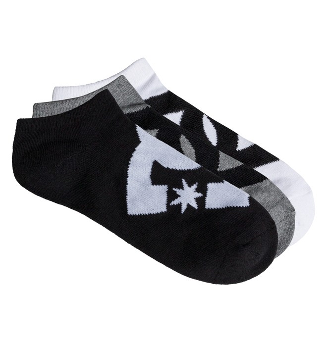 0 Men's Suspension Ankle Socks, 3 Pack  ADYAA03055 DC Shoes