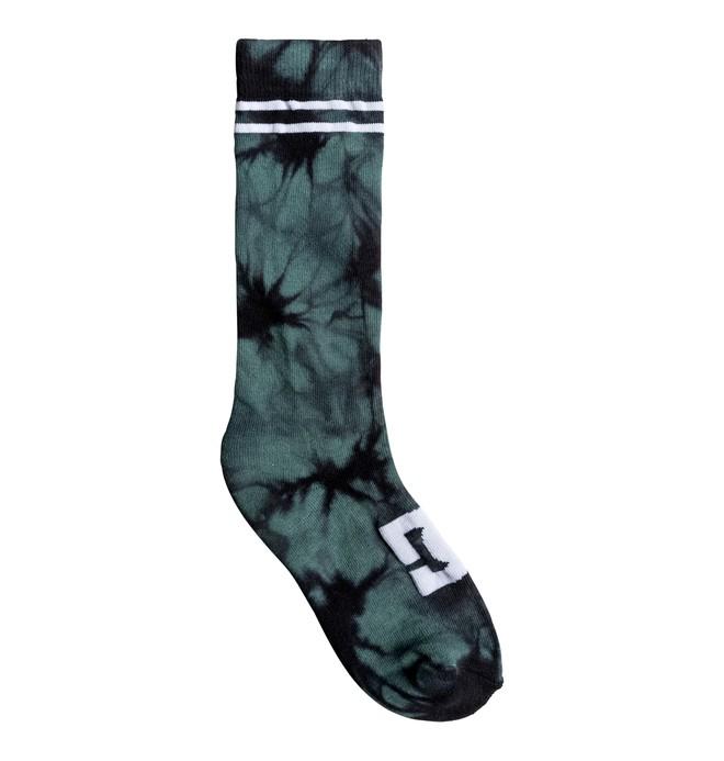0 Men's Pig Dye Crew Socks  ADYAA03056 DC Shoes