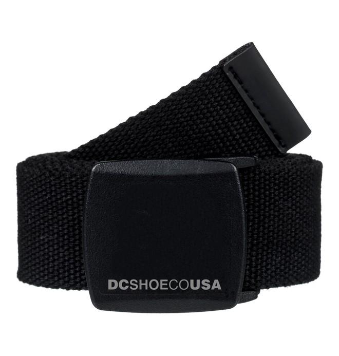 0 DC Webbing Belt Black ADYAA03075 DC Shoes
