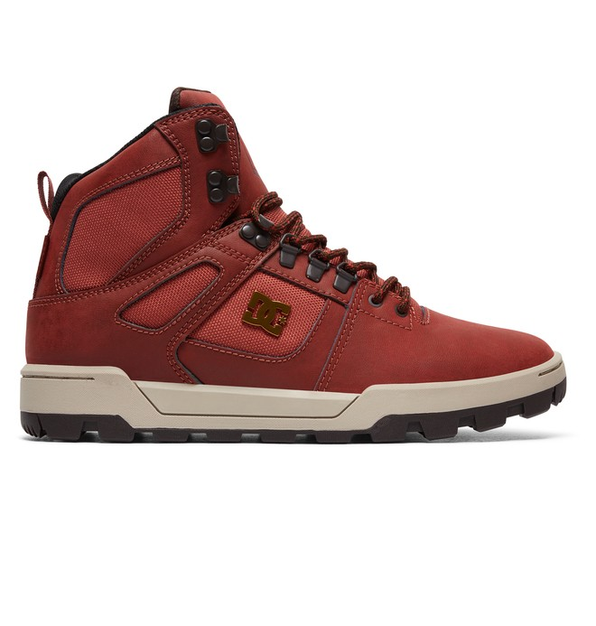 0 Pure High Boot - Mountain Boots Brown ADYB100001 DC Shoes