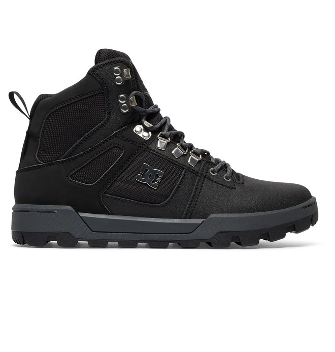 0 Men's Spartan High Boot Mountain Boots Black ADYB100001 DC Shoes