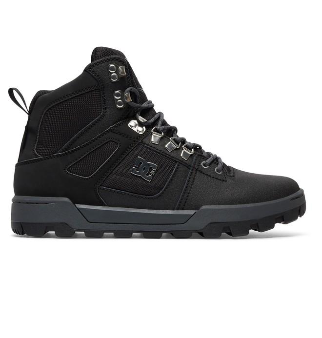 0 Pure High WR Boot - Laarzen Black ADYB100001 DC Shoes