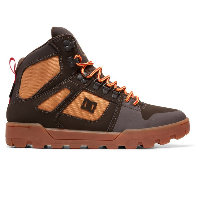 0 Pure WNT - Winterized Water-Resistant Boots for Men Brown ADYB100006 DC Shoes