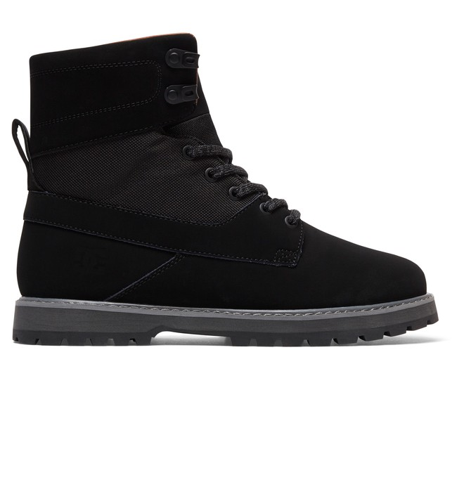 0 Uncas - Lace-Up Boots Black ADYB700009 DC Shoes