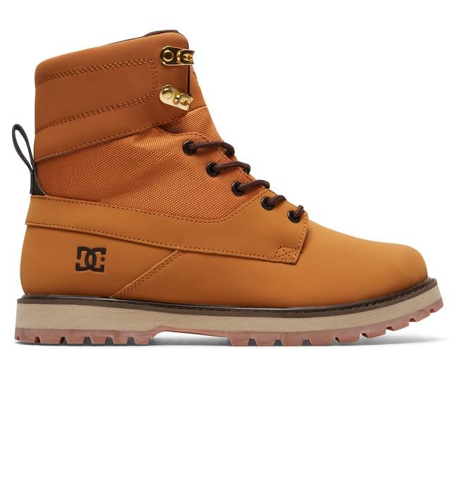 0 Men's Uncas Lace Up Boots Brown ADYB700009 DC Shoes