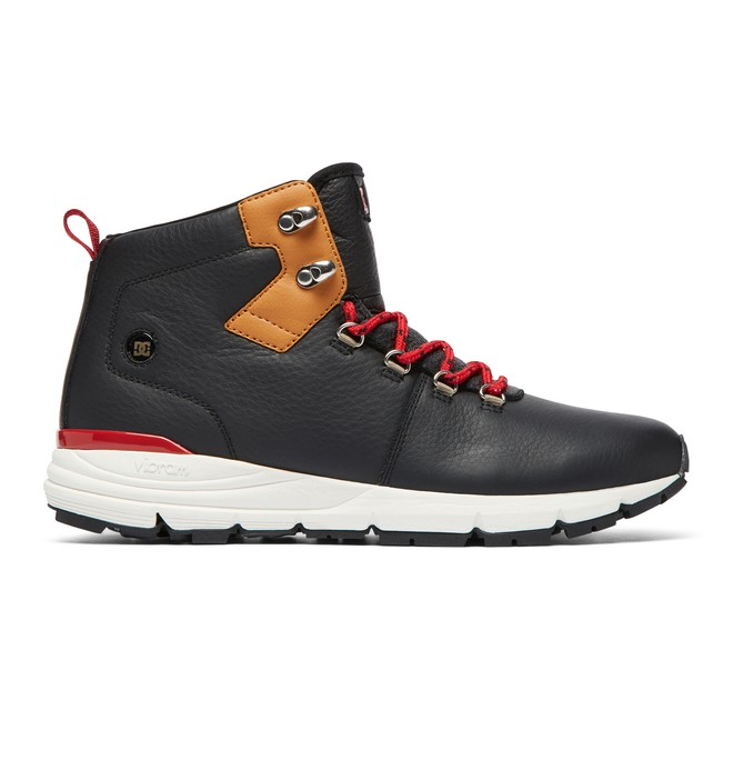 0 Muirland LX Lace-Up Leather Boots Multicolor ADYB700020 DC Shoes