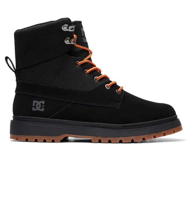 0 Uncas - Botas Con Cordones para Hombre Negro ADYB700023 DC Shoes