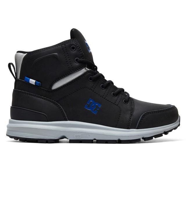 0 Torstein Lace-Up Boots Black ADYB700026 DC Shoes