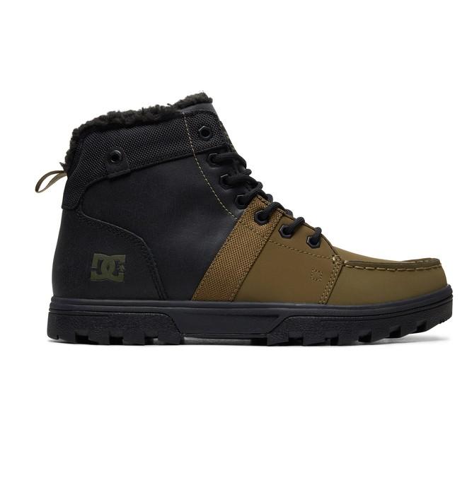 0 Woodland - Bottines d'hiver pour Homme Noir ADYB700027 DC Shoes