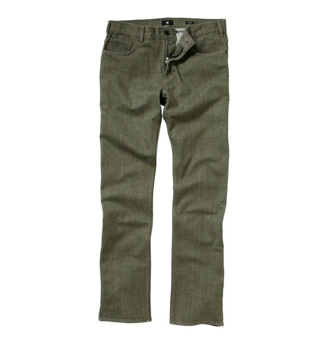 0 Men's Straight Fit Yarndye Jeans  ADYDP00001 DC Shoes