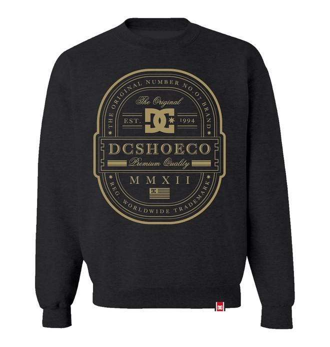 0 Men's Rob Dyrdek Lux Label Crew Sweatshirt  ADYFT00053 DC Shoes