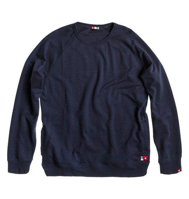 0 Men's Core Crew Sweatshirt  ADYFT00100 DC Shoes