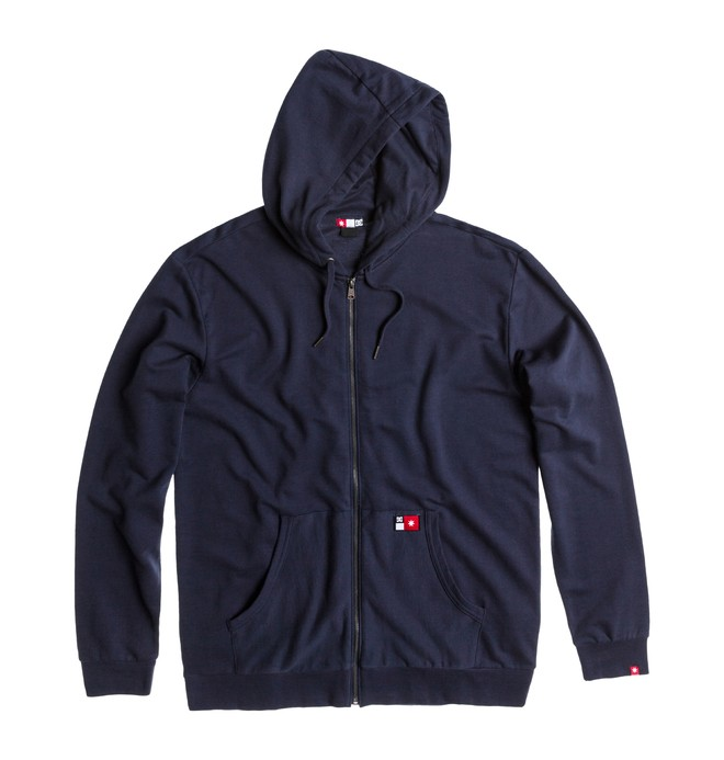 0 Men's Core Zip Sweatshirt  ADYFT00101 DC Shoes