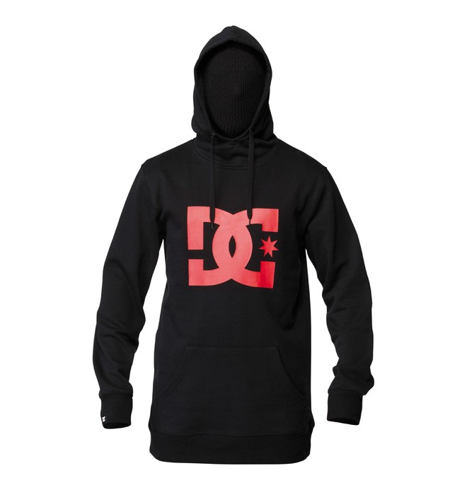 0 Men's Snow Star Pullover Hoodie  ADYFT00127 DC Shoes
