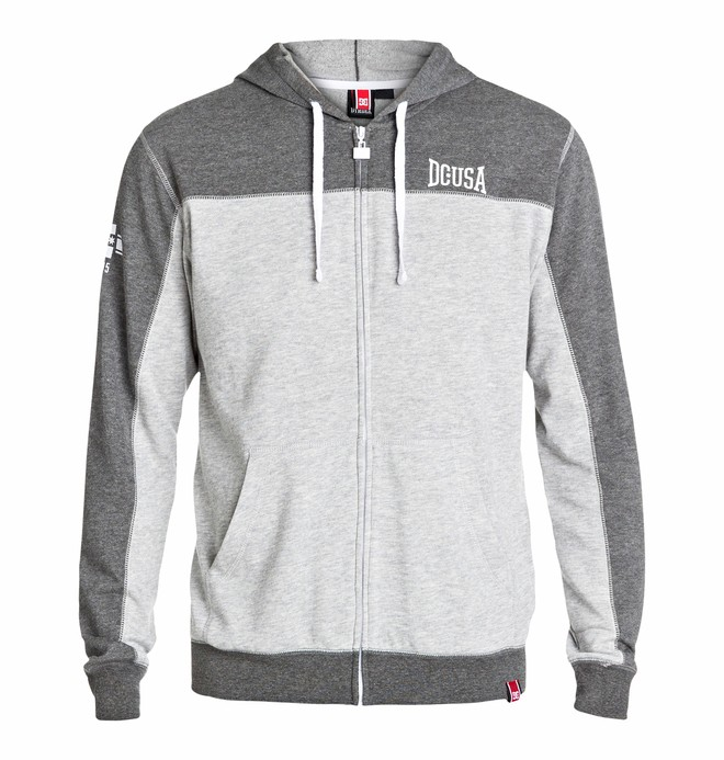 0 Men's Rob Dyrdek Uppercut Zip Sweatshirt  ADYFT03034 DC Shoes