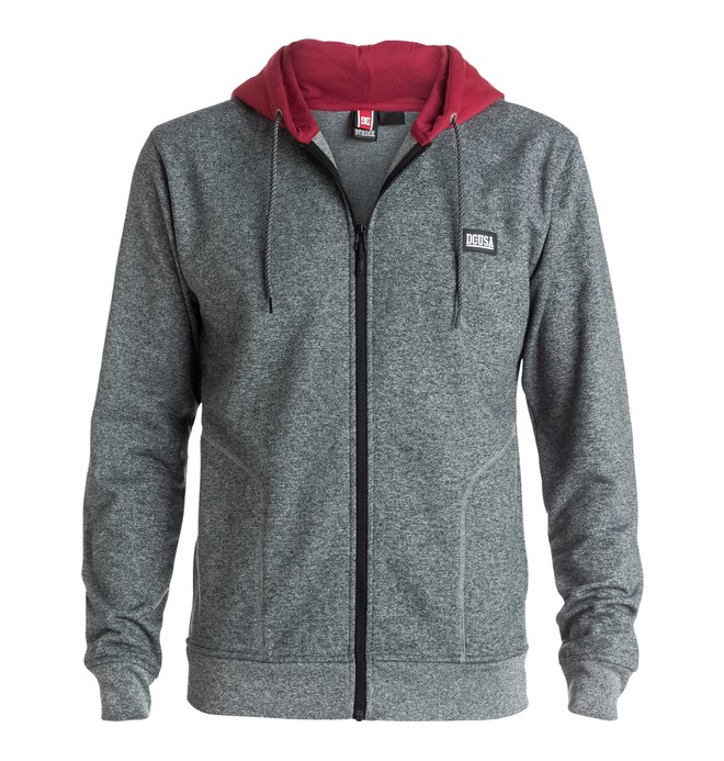 0 Men's RD Flooded Zip-Up Hoodie  ADYFT03120 DC Shoes