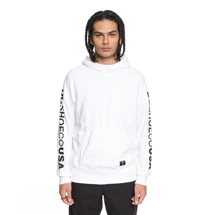 0 Tiago - Sweat à capuche Blanc ADYFT03190 DC Shoes