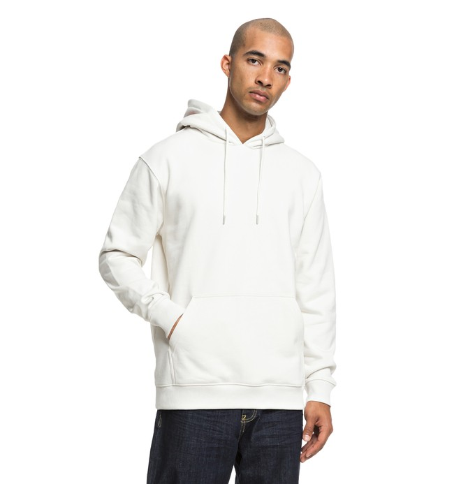 0 Skate Hoodie White ADYFT03207 DC Shoes