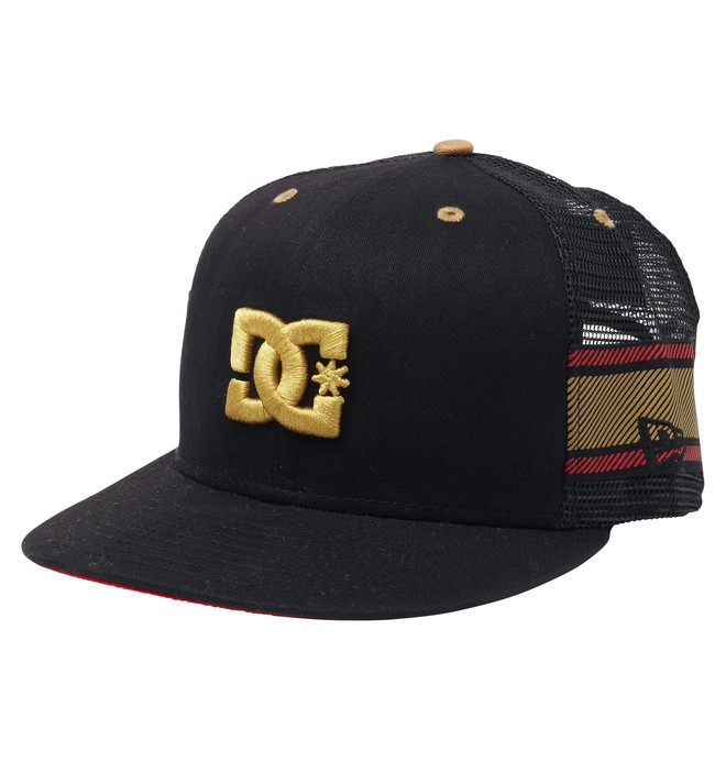 0 RD LUX STRIPE HAT  ADYHA00031 DC Shoes