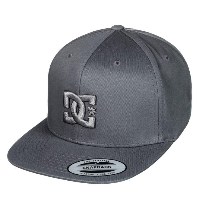 0 Men's Snappy Snapback Hat Black ADYHA00058 DC Shoes