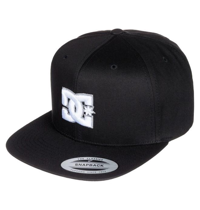 0 Snappy - Snapback Cap Black ADYHA00058 DC Shoes