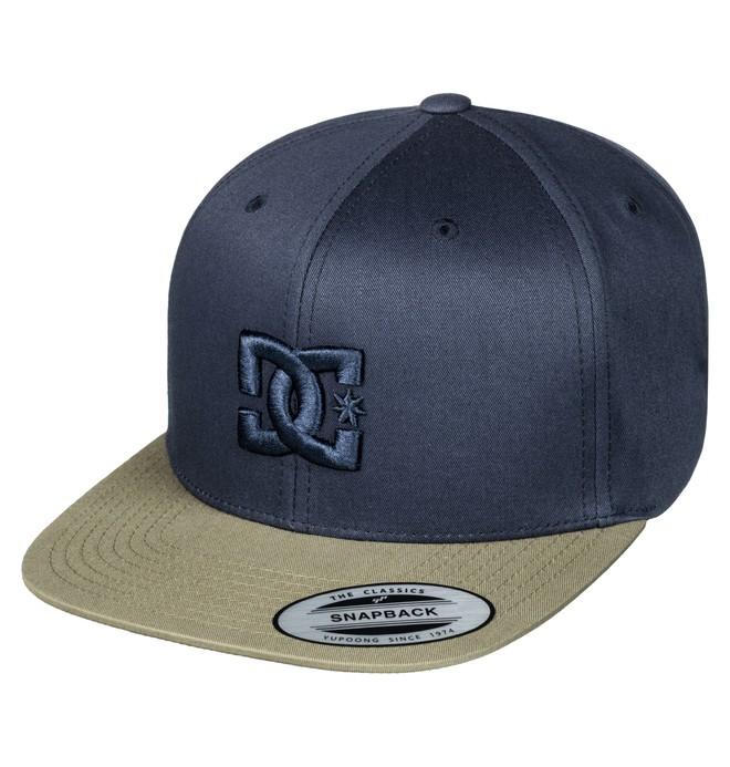 0 Men's Snappy Snapback Hat Blue ADYHA00058 DC Shoes