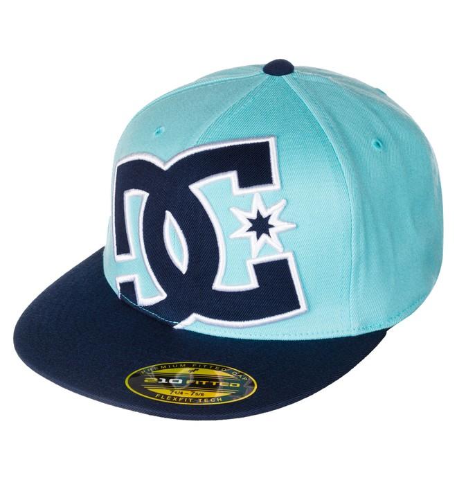 0 Men's Ya Heard Flexfit Hat  ADYHA00141 DC Shoes
