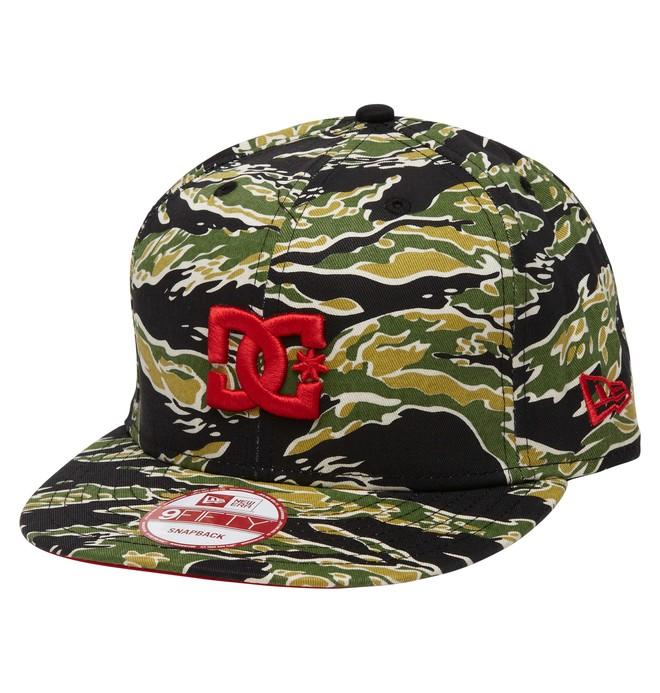 0 Men's Rob Dyrdek Tigerstripe Snapback Hat  ADYHA00175 DC Shoes