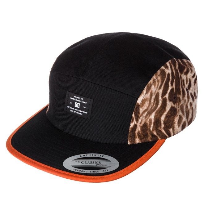 0 Men's Safari Camper Snapback Hat  ADYHA03042 DC Shoes