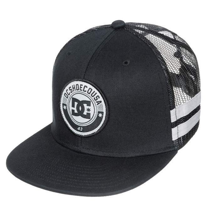 0 Men's Speedster 6-Panel Trucker Hat  ADYHA03103 DC Shoes