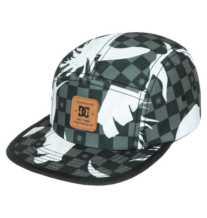 0 Men's Supercamp 5-Panel Camper Hat  ADYHA03117 DC Shoes