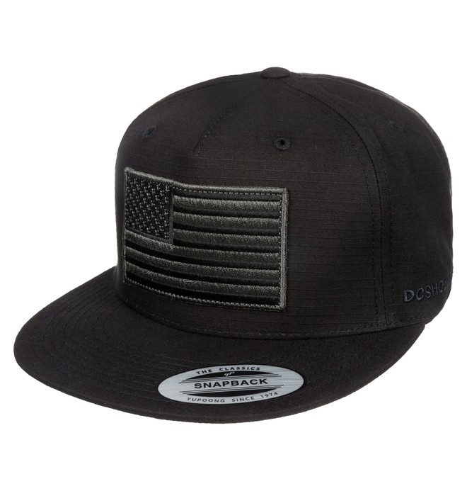 0 Defacer - Casquette 5 panel snapback  ADYHA03142 DC Shoes