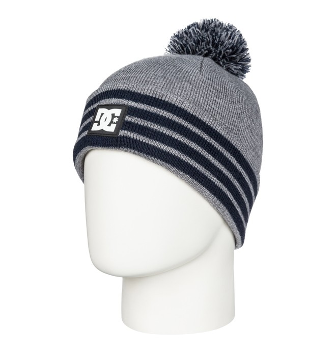 0 Askers - Cuff Bobble Beanie  ADYHA03151 DC Shoes